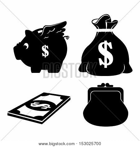 save the money theme design icon vector illustration eps 10