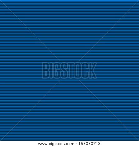 Pattern texture of crumpled paper in the volume of horizontal lines for notes. Can be used for wallpaper, pattern fills, web page background, surface textures. Blue galousie.