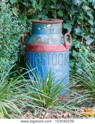 Old Buckets Milk, Beautifully Painted