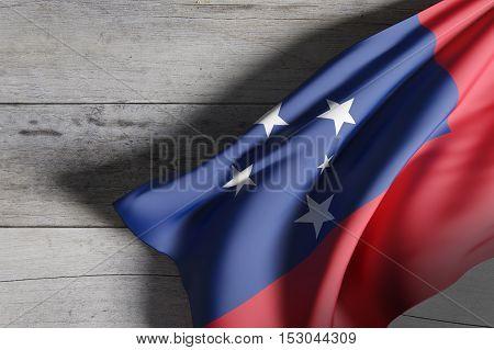 Independent State Of Samoa Flag
