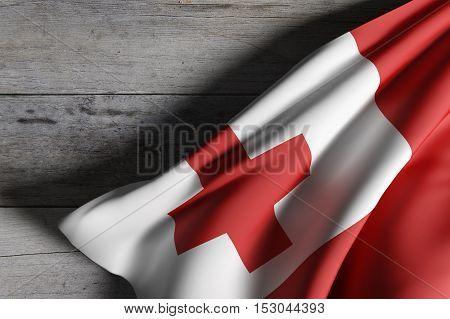 Kingdom Of Tonga Flag