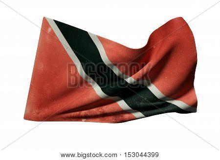 Republic Of Trinidad And Tobago Flag Waving