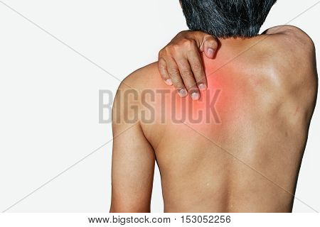 Men who have health problems muscle pain shoulder pain