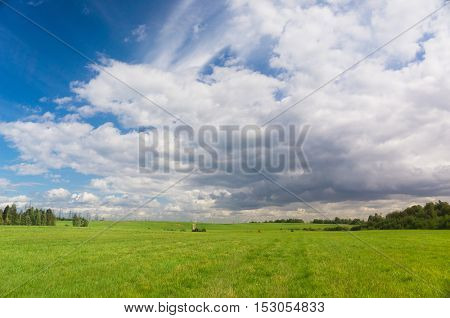 Grass Land Scenic View