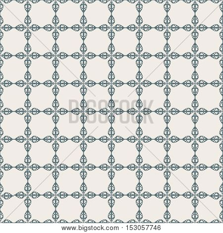 abstract flat vector seamless pattern. Gray color