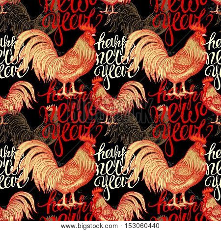 Fiery red roosters and phrase