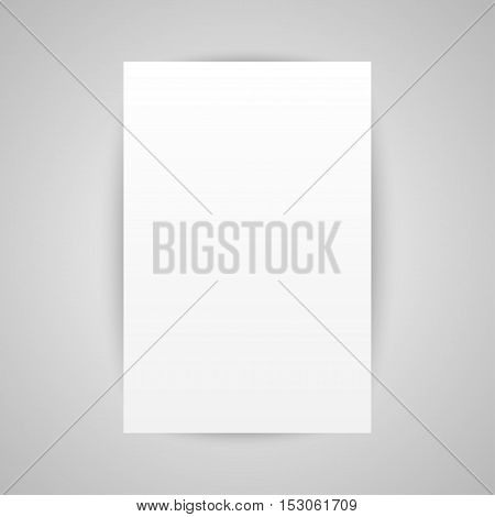 Set of paper rectangle banner template for business design, infographics. Vector illustration eps10. Mock up. Mockup. Web graphic for your design. A4.