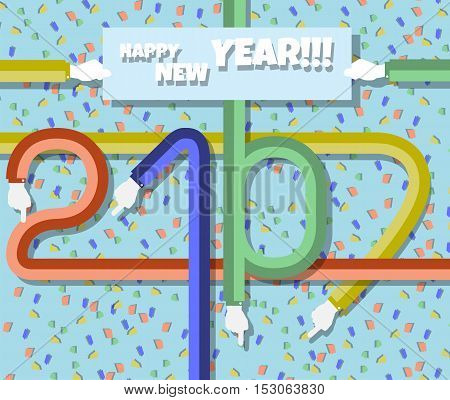 2017 HAPPY NEW YEAR FLAT for web