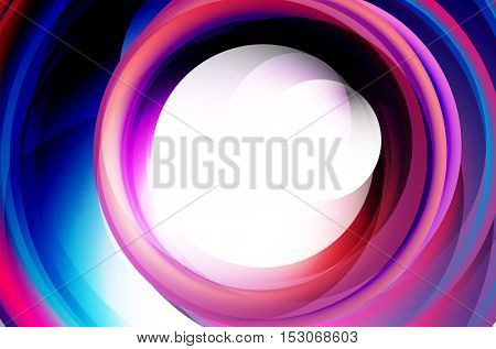 bright swirl motion abstract background