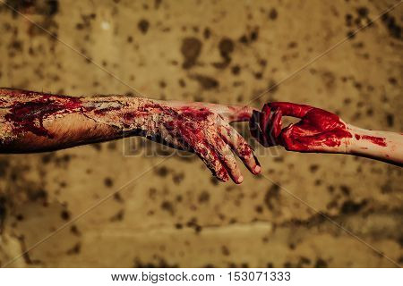 Two Zombie Hands