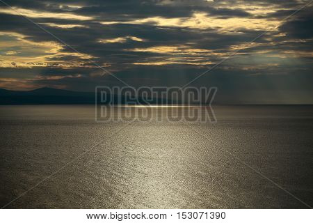 Spectacular Sky Over Sea