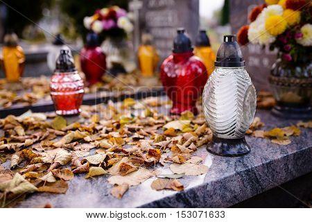 Grave At Autumn.