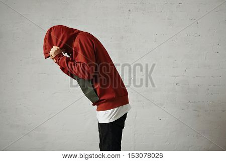 Man In A Red Anorak