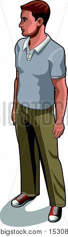Service Man 04 People Isometric