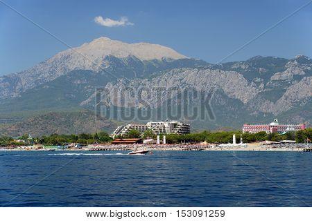 Beach and coastline Kirish, Turkey