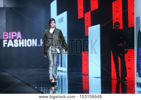 Bipa Fashion.hr Fashion Show: Gala Vrbanic, Zagreb, Croatia.