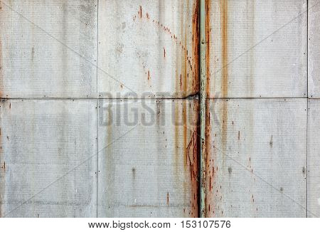 Old Rough Textured Concrete Panels.