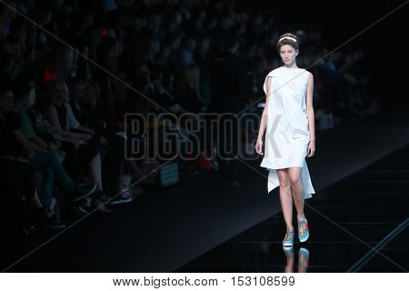 Bipa Fashion.hr Fashion Show: Morana Krklec, Zagreb, Croatia.