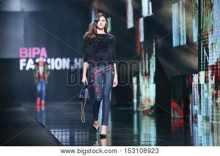 Bipa Fashion.hr Fashion Show: Elfs, Zagreb, Croatia.