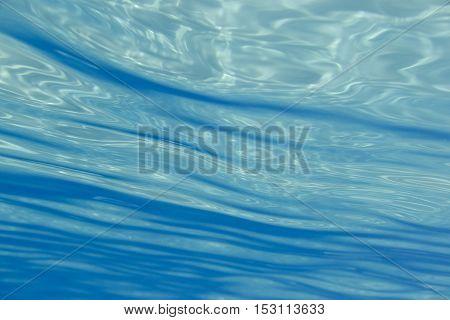 Blue Underwater Shot