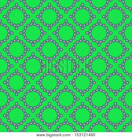 Polka dot rhombus geometric seamless pattern. Fashion graphic background design. Modern stylish abstract texture. Color template for prints textiles wrapping wallpaper etc VECTOR illustration