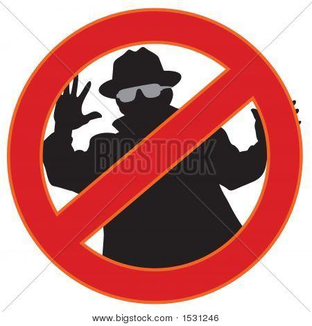 No Spyware Symbol