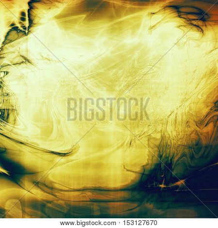 Elegant vintage background, antique texture. Designed grunge template with different color patterns: yellow (beige); brown; green; blue; red (orange)