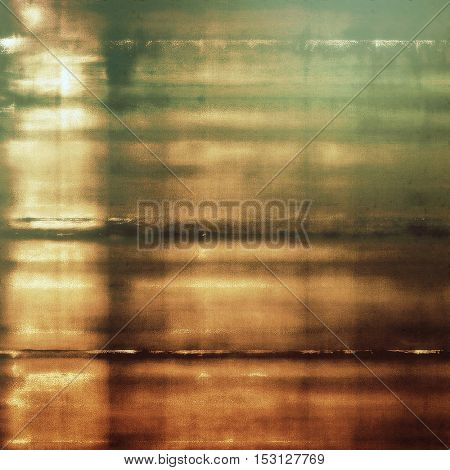 Vintage background - dirty ancient texture. Antique grunge backdrop with different color patterns: yellow (beige); brown; gray; green; cyan