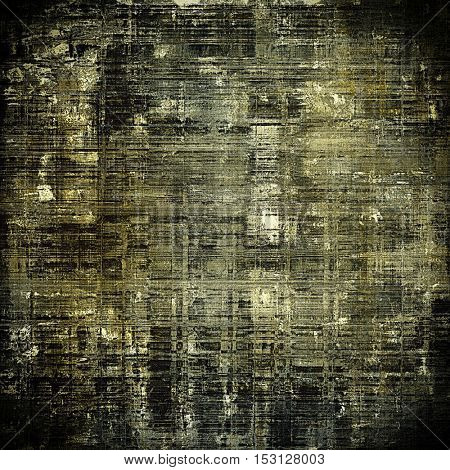 Abstract colorful background or backdrop with grunge texture and different color patterns: yellow (beige); brown; gray; black
