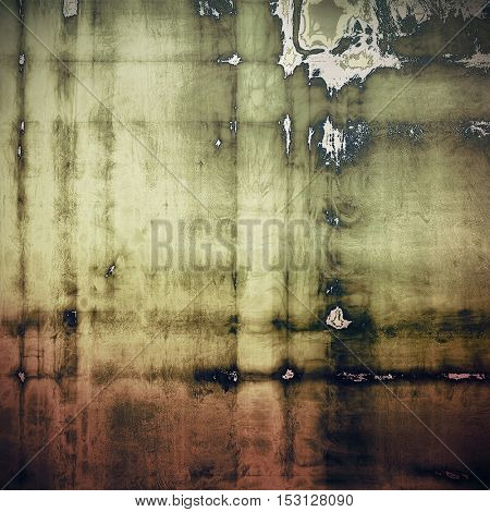 Vintage mottled frame, textured grunge background with different color patterns: yellow (beige); brown; gray; black; pink; white