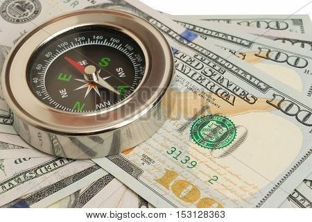 on the big money is metal compass