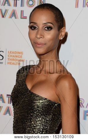 LOS ANGELES - OCT 22:  Isis King at the TransNation Miss Queen USA Pageant at Ace Hotel on October 22, 2016 in Los Angeles, CA