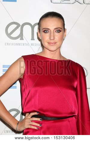 LOS ANGELES - OCT 22:  Anna Schafer at the 26th Annual Environmental Media Awards at Warner Brothers Studio on October 22, 2016 in Burbank, CA