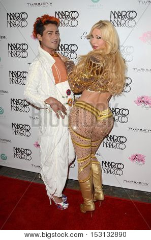 LOS ANGELES - OCT 21:  guest, Cassandra Cass at the Marco Marco Fashion Show at Globe Theater on October 21, 2016 in Los Angeles, CA