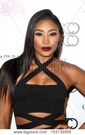 LOS ANGELES - OCT 21:  Ariane Andrew at the Marco Marco Fashion Show at Globe Theater on October 21, 2016 in Los Angeles, CA
