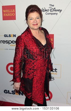 LOS ANGELES - OCT 21:  Kate Mulgrew at the 2016 GLSEN Respect Awards at Beverly Wilshire Hotel on October 21, 2016 in Beverly Hills, CA