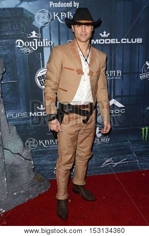 LOS ANGELES - OCT 22:  Ryan Guzman at the 2016 Maxim Halloween Party at Shrine Auditorium on October 22, 2016 in Los Angeles, CA