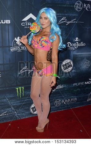 LOS ANGELES - OCT 22:  Stefanie Knight at the 2016 Maxim Halloween Party at Shrine Auditorium on October 22, 2016 in Los Angeles, CA