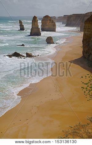 Coastal landscape of Port Campbell National Park