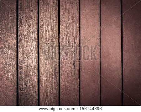 close up wooden board background with space