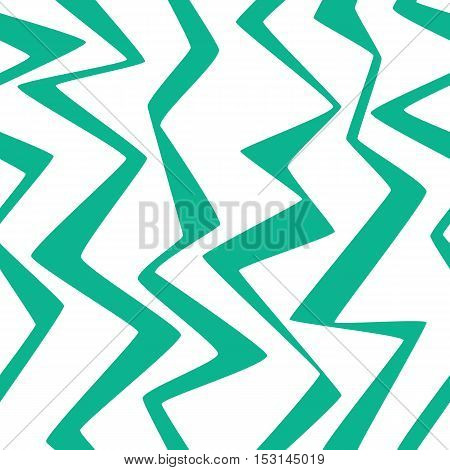 Seamless Repeating Paper Fabric Retro Wave Peak Triangles Lines Pattern