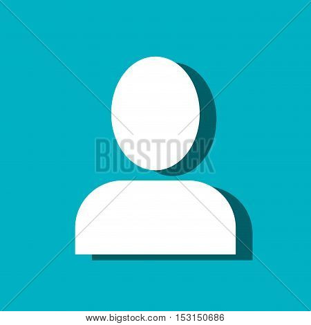 user figure avatar isolated icon vector illustration design