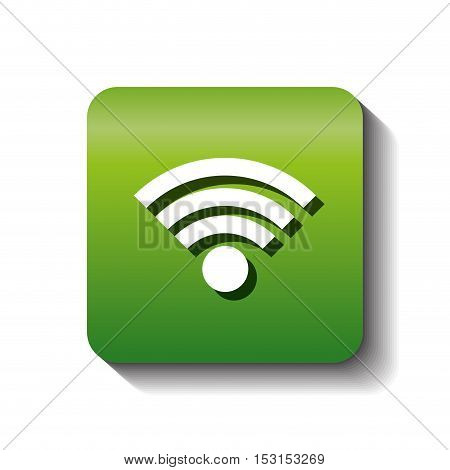 wifi connection sign isolated icon vector illustration design