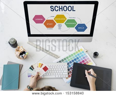 School College Education Intelligence Concept