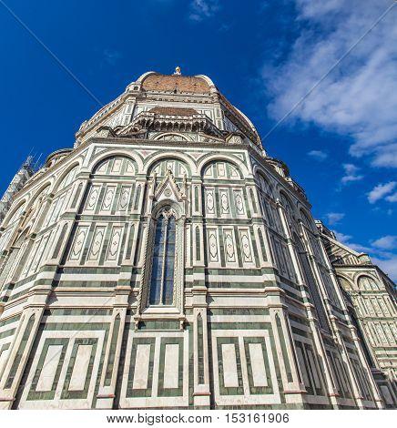 Santa Maria del Fiore catedral in Florence, Italy