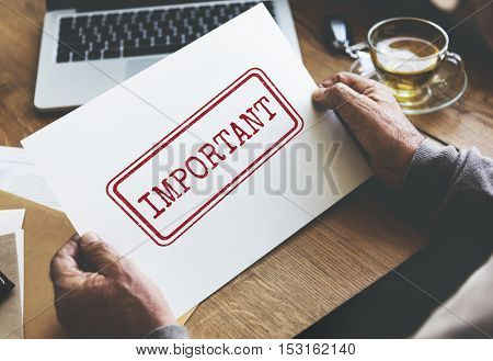 Important Prioritize Tasks Urgent Issues Order Concept