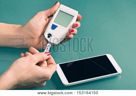 Using Blood Sugar Meter