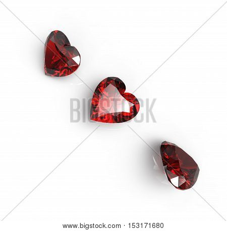 3D rendering with diamonds. Jewelry background. Fashion Jewelry