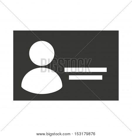 safety id document icon vector illustration design