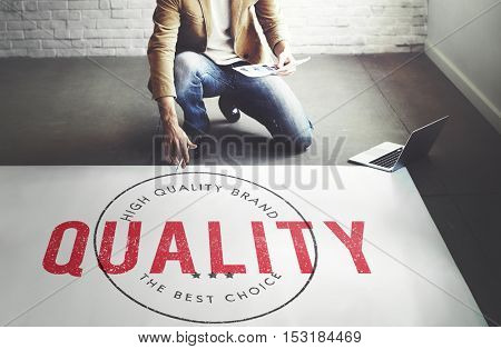 Business Quality Assurance Approved Concept